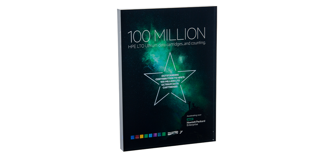 HPE LTO 100 Million Award