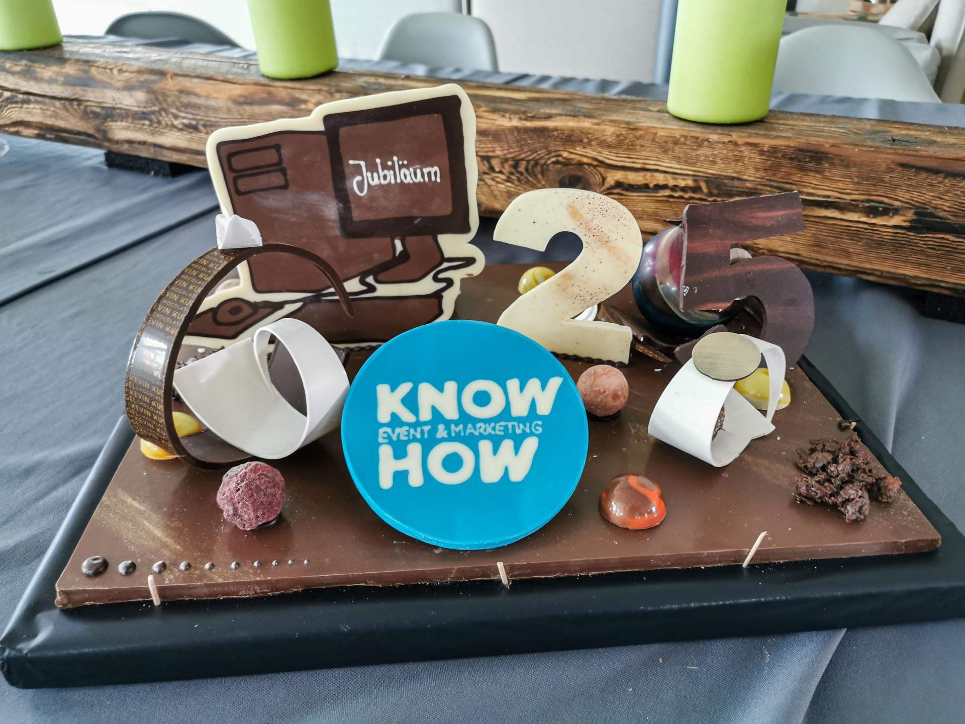 25 years Know-How Cake