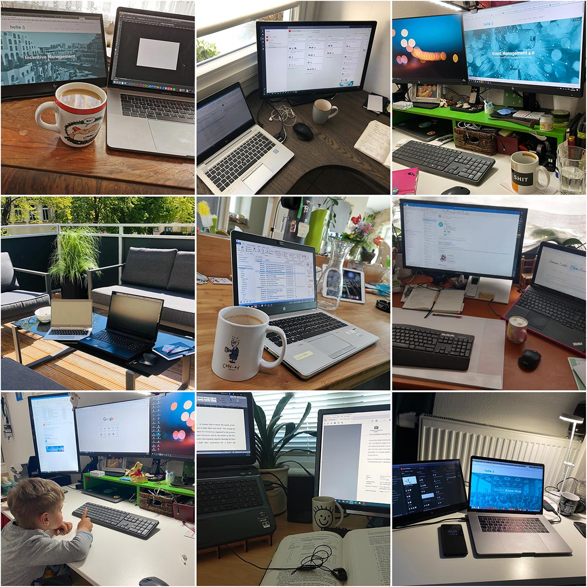 Home Office Collage
