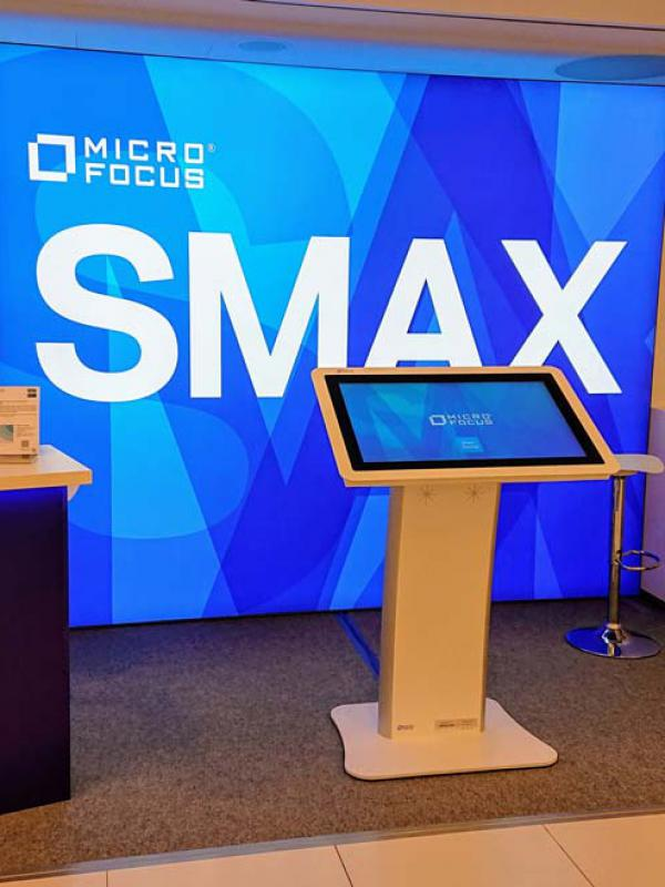 Micro Focus booth @ itSMF Jahreskongress
